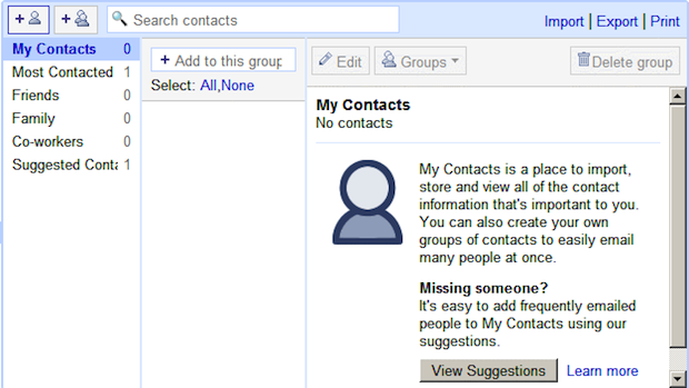 Google Adds CardDAV to Google Contacts
