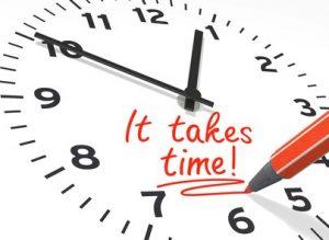 SEO success takes time