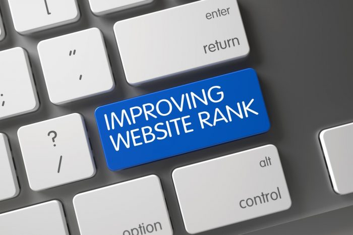 seo website ranking in google