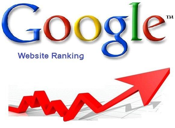 google website ranking
