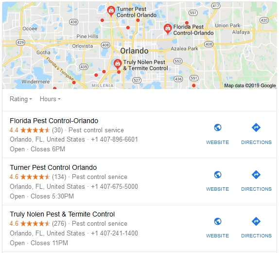 pest control Orlando, Florida