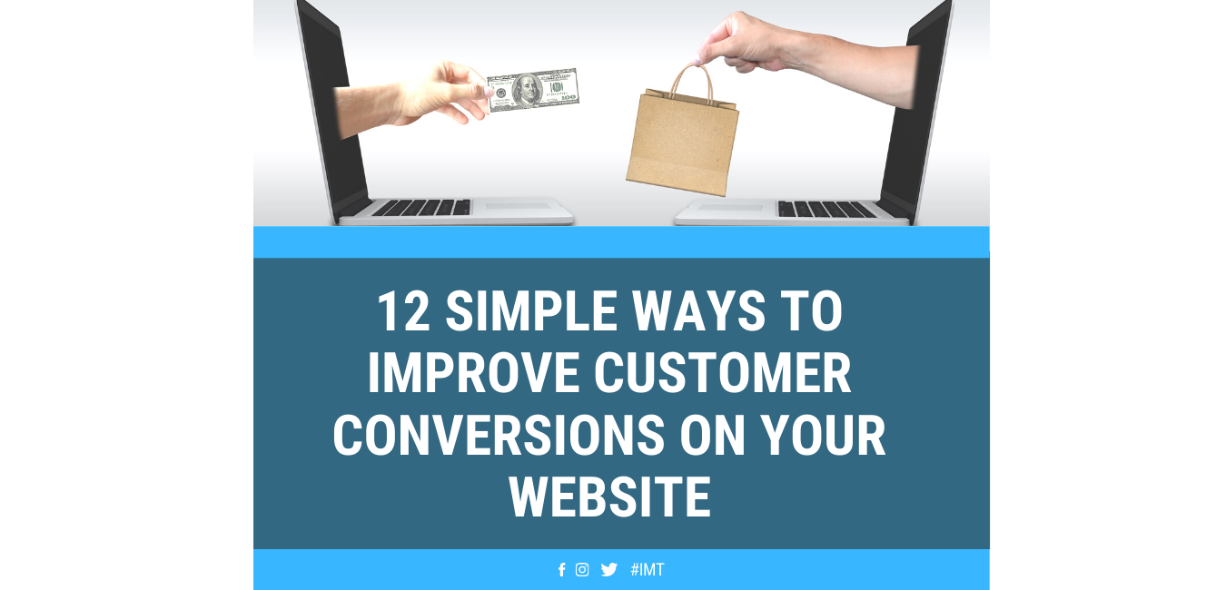 12 Ways to Improve Customer Conversions